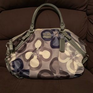 Coach Madison Clover Large Sophia Handbag